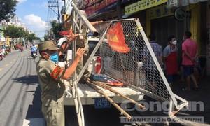 Nhiều rào chắn trong hẻm nhỏ ở TPHCM đã được dỡ bỏ