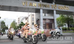 Công an TPHCM đồng loạt ra quân trấn áp tội phạm khi thành phố 'bình thường mới'