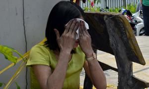 Chung cư Carina Plaza một ngày sau thảm hoạ cháy 13 người chết