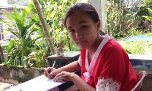 Xin nâng cánh ước mơ cho cô bé mồ côi học giỏi