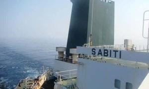 Tàu dầu Iran phát nổ ngoài khơi Saudi, nghi bị tấn công
