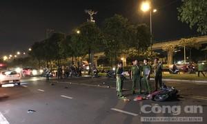 Hai xe máy đối đầu ở Sài Gòn, 3 người thương vong