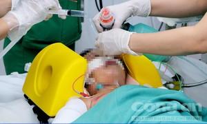 Bé gái 4 tuổi bị tai nạn cùng ba mẹ ở Sài Gòn đã qua cơn nguy kịch