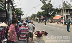 Tránh xe máy từ lề đường lao ra, một phụ nữ bị xe tải cán tử vong ở Sài Gòn