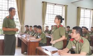 Gặp những giảng viên trẻ, giỏi của lực lượng Công an nhân dân