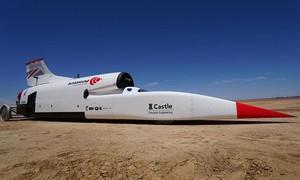 Clip cỗ xe phá kỷ lục, tăng tốc từ 0 đến 1010 km/h trong 50 giây