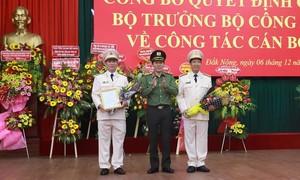 Công an hai tỉnh Đắk Lắk và Đắk Nông có tân giám đốc