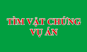 Công an quận Phú Nhuận tìm điện thoại iPhone vật chứng trong vụ án