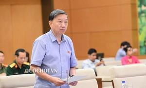Bộ trưởng Bộ Công an Tô Lâm sẽ đăng đàn trả lời chất vấn