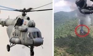 Rơi trực thăng quân sự ở Mexico, 6 người thiệt mạng