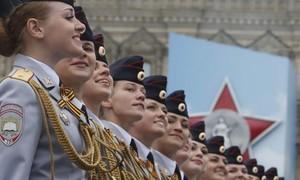 Loạt ảnh ấn tượng lễ duyệt binh mừng Ngày chiến thắng ở Nga