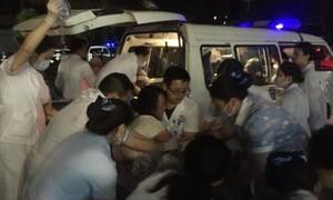 Động đất liên hoàn ở Trung Quốc, ít nhất 11 người chết