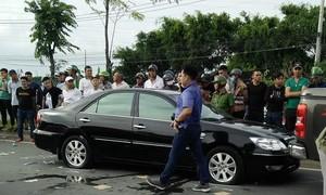 """Bắt nghi can thứ 3 vụ côn đồ """"vây"""" xe chở công an ở Đồng Nai"""