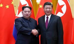 Ông Tập đến thăm Triều Tiên, chỉ 1 tuần trước khi gặp Trump