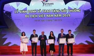 Sun Group bội thu tại lễ trao giải thưởng Du lịch Việt Nam 2019