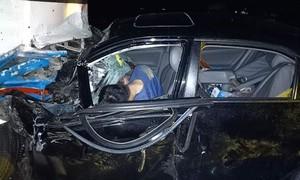 Xe 4 chỗ và xe khách tông nhau, Chủ tịch UBND huyện nguy kịch