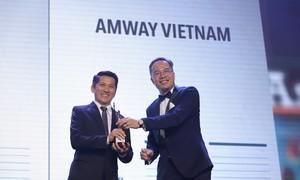 """Amway Việt Nam nhận giải """"Nơi làm việc tốt nhất Châu Á năm 2019"""""""