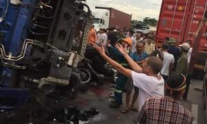 Xe tải gây tai nạn thảm khốc khiến 5 người chết, chạy 65km/h