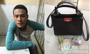 Đặc nhiệm quật ngã tên cướp giật ở trung tâm Sài Gòn