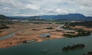 Phạt chủ đầu tư dự án 1,6 tỷ USD lấn sông Cu Đê chưa có giấy phép