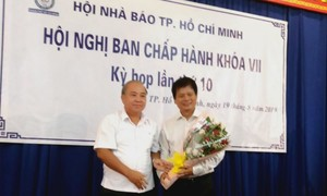 Ông Trần Trọng Dũng làm Chủ tịch Hội Nhà báo TPHCM
