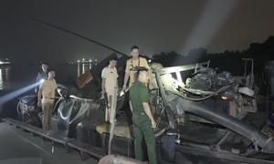 Cảnh sát Đường thủy Công an TP.HCM kiên quyết với cát tặc