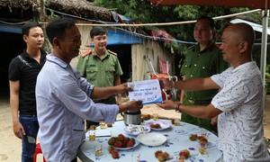 Đoàn Thanh niên Công an TPHCM trao nhà nghĩa tình đồng đội