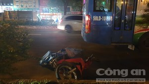 Chạy vào làn ô tô, thanh niên bị xe buýt cán chết ở Sài Gòn