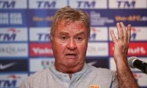Trung Quốc sa thải HLV Guus Hiddink