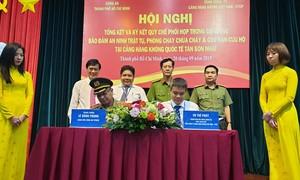 Phối hợp bảo đảm ANTT và PCCC cho sân bay Tân Sơn Nhất