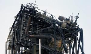Cận cảnh hiện trường vụ tấn công vào cơ sở sản xuất dầu của Saudi