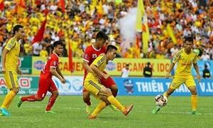 Khánh Hòa hy vọng trụ hạng sau khi đánh bại Nam Định