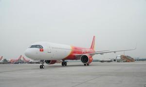 Vietjet vừa bổ sung máy bay A321neo ACF 240 ghế đầu tiên trên thế giới