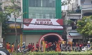 Phạt 15 triệu, buộc tháo dỡ biển hiệu trái phép của Công ty Alibaba