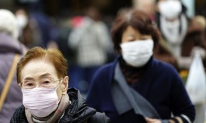 Nhật phát hiện ca nhiễm virus mới từ Trung Quốc đầu tiên