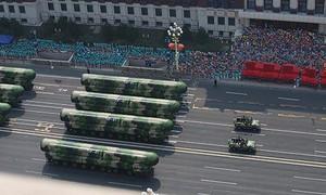 Đầu năm Trung Quốc đã diễn tập chống tấn công hạt nhân