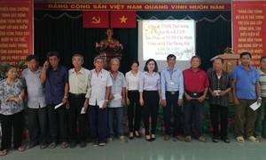Báo Công an TPHCM tặng quà Tết cho người nghèo ở Củ Chi