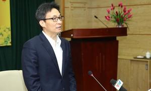 Phó Thủ tướng chủ trì họp khẩn phòng chống dịch nCoV