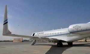 Clip hiện trường vụ rơi máy bay nghi của không quân Mỹ