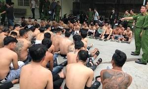 Vụ bắt giữ gần 60 đối tượng xăm trổ: Lời khai của những kẻ cầm đầu
