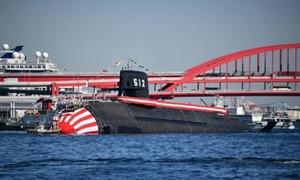 Nhật hạ thủy tàu ngầm hơn 700 triệu USD