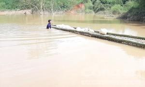 Thuỷ điện tự ý tích nước gây hoạ cho dân