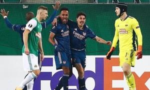 Arsenal thắng ngược trận ra quân Europa League
