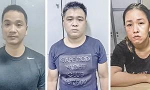 TPHCM: Thêm 1 nhóm chuyên tạt sơn để đòi nợ bị bắt giam