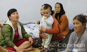 Ký túc xá trú bão cho hàng ngàn người dân Quảng Ngãi
