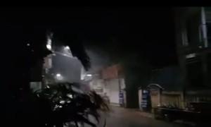 Clip bão số 9 đổ bộ gây mưa to, gió lớn ở Lý Sơn