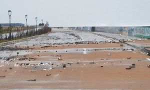 Cập nhật: Bão đang vào đất liền, Phú Yên mất điện diện rộng, Quảng Ngãi 1 người chết