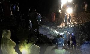 Cập nhật: Lở núi vùi lấp 53 người, đã tìm thấy 7 thi thể