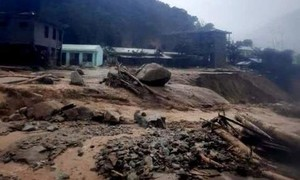 Vụ sạt lở ở Phước Sơn: 2 xã cô lập thiếu lương thực trầm trọng