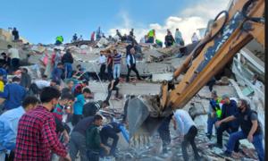 Động đất mạnh rung chuyển Hy Lạp và Thổ Nhĩ Kỳ